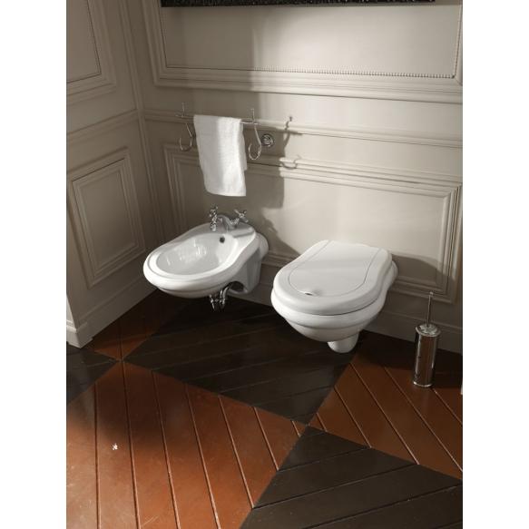 wc-istuin Kerasan Retro 1015, seinämalli, valkoinen