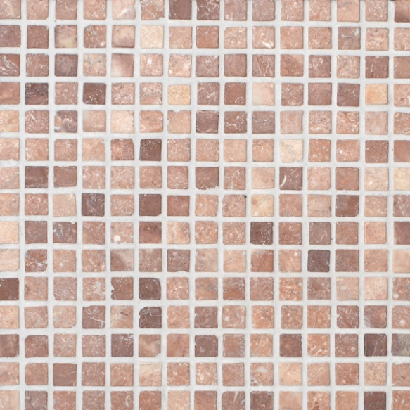 Square Coco Brown marble 20x20mm