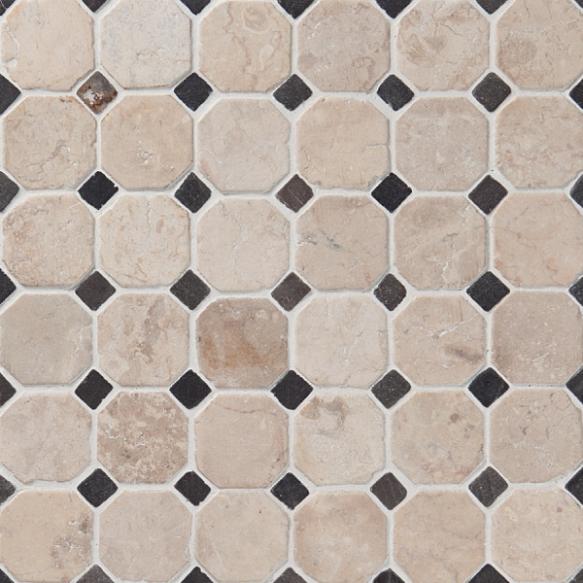 Classic Pattern 50x50mm White-Grey