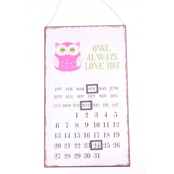 Owl kalenteri