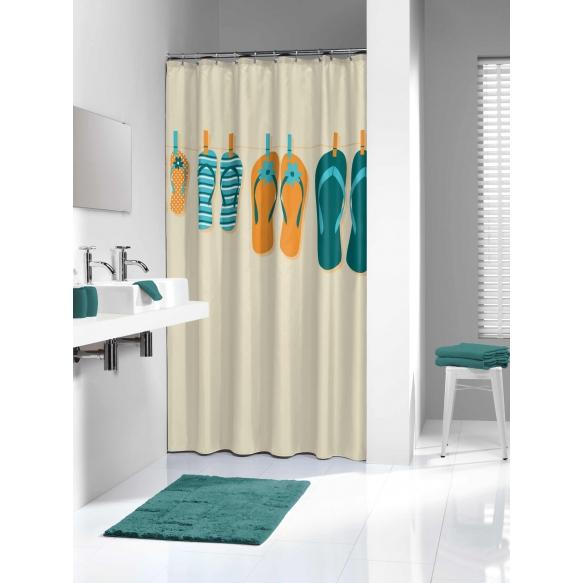 suihkuverho Slippers, tekstiili