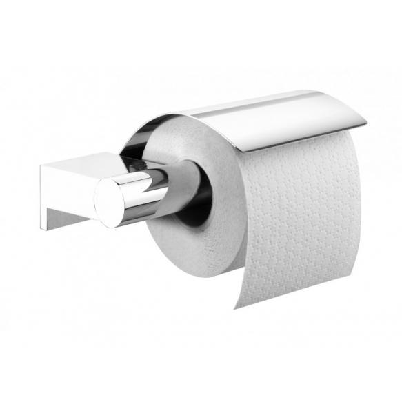 wc-paperiteline Bold, lasi+metalli, kromi, ruuviton asennus
