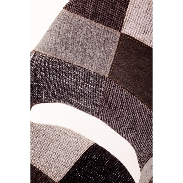 käsinojallinen Arne,harmaa patchwork