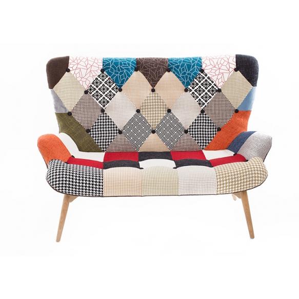 sohva Burg, patchwork