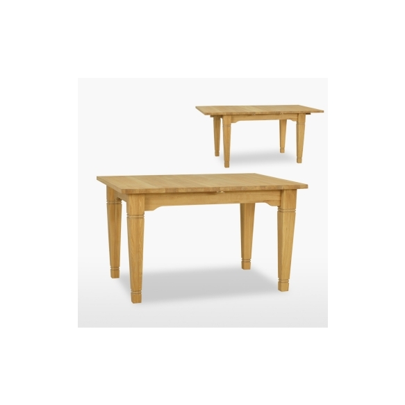 jatkettava ruokapöytä Verona yhdellä jatkokappaleella, 130/170 cm