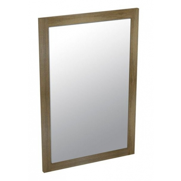 puukehyksinen peili Larita 75 cm, tammi Graphite