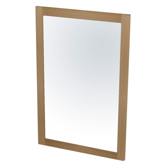puukehyksinen peili Larita 75 cm, tammi Natural