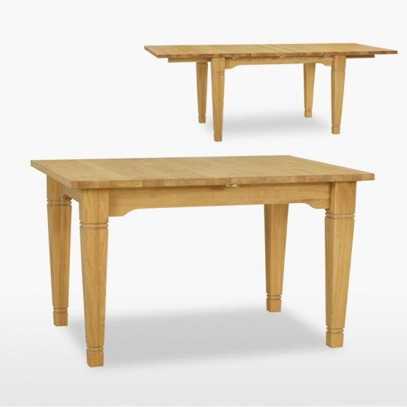 jatkettava ruokapöytä Verona kahdella jatkokappaleella, 160/200/240 cm