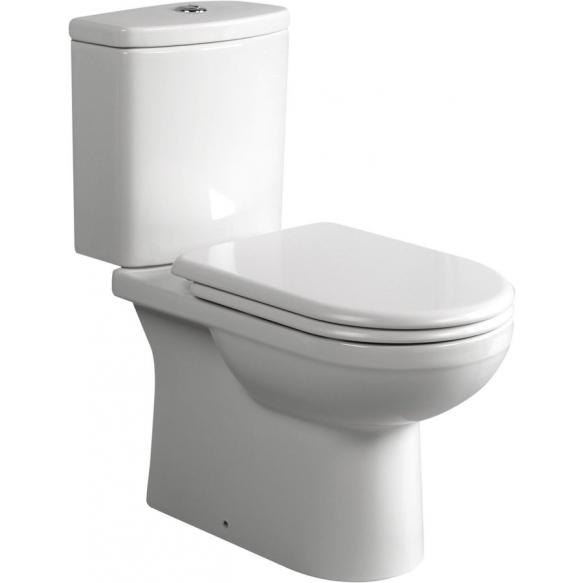 wc-istuin, universaali lattiakaivo, vedenotto huuhtelusäiliön alla, istuinkansi ei kuulu settiin (71113333+71113400+IT5030)