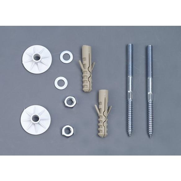 ruuvisetti pesualtaan seinälle kiinnitykseen UAK14, 10x120 mm