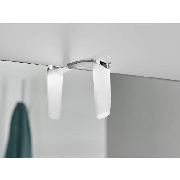 SABRINA 2 LED valgusti 3W, 37x117x119mm, kroom