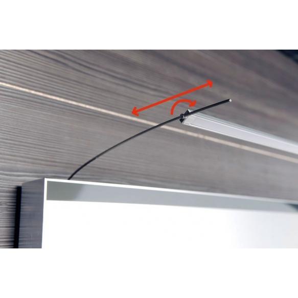 TREX LED valgusti peegli kohale 7W, 102cm, alumiinium