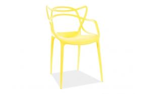 pinottava tuoli Mucha, keltainen