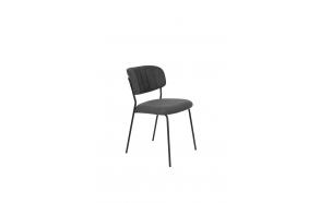 Tuoli Jolien Black/Dark Grey