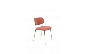 Tuoli Jolien Gold/Pink