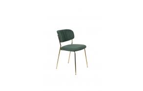 Tuoli Jolien Gold/Dark Green