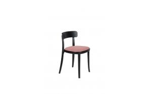 tuoli Brandon musta/roosa
