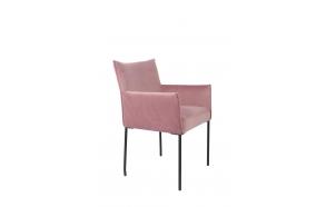 käsinojallinen tuoli Dion Velvet, Pink