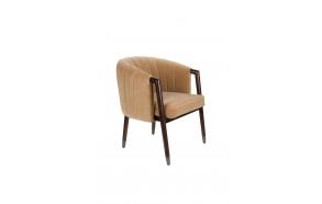 käsinojallinen tuoli Tammy, Caramel (fire retardant)