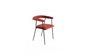 käsinojallinen tuoli Haily, Wine Red