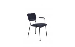käsinojallinen tuoli Benson, Dark Blue