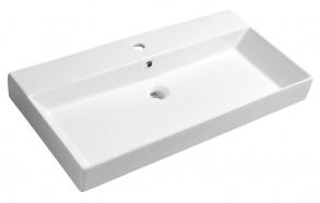Pesuallas Interia Kare, 850x460mm, valkoinen