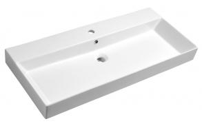 Pesuallas Interia Kare, 980x460mm, valkoinen