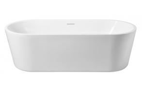 akryyli kylpyamme Interia Libero 178x80x58,5 cm, matta valkoinen