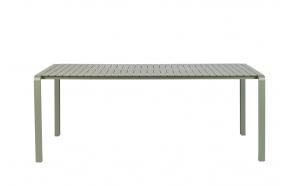 Ulkotilan pöytä Vondel 214X97 Green