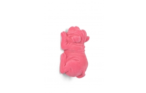 koriste-lamppu Devilish Bulldog Pink