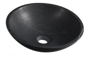Malja-allas Interia Blok, 400x120mm, musta