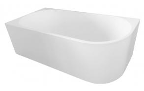 Kylpyamme Interia Tibera, 190l, 1700x800mm, vasen