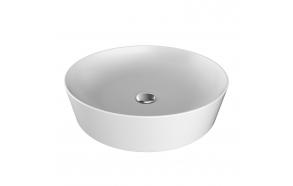 pesuallas Creavit Ultra pöytätasolle, 45x45 cm, valkoinen