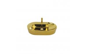 pesuallas Creavit pöytätasolle, 45x70 cm, kulta