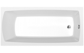 akryyliamme Interia Lily 150x70 cm, täysrungolla, valkoinen