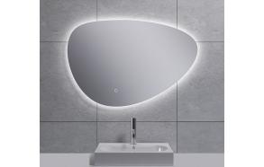 "LED peili Uovo 80x55 cm, himmennettävä, ""antifog"""