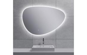 "LED peili Uovo 90x62 cm, himmennettävä, ""antifog"""