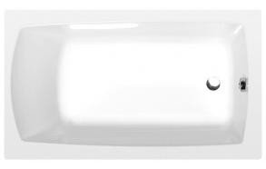 akryyliamme Interia Lily 130x70 cm, täysrungolla, valkoinen