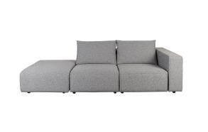 Ulkosohva Breeze 3-Seater Right Grey
