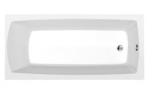 akryyliamme Interia Lily 140x70 cm, täysrungolla, valkoinen