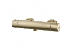 Suihkutermostaatti Interia Cool Touch, harjattu messinki
