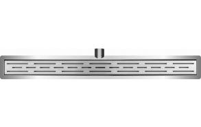 Linjalattiakaivo Interia 740x110mm, teräs