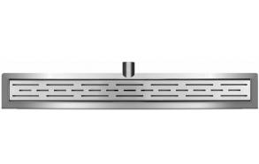 Linjalattiakaivo Interia 740x110mm, seinäkiinnikkeellä, teräs