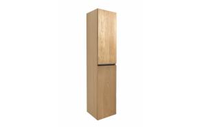 Tammipuinen korkea kaappi Interia Vision Oak, 160x35x35