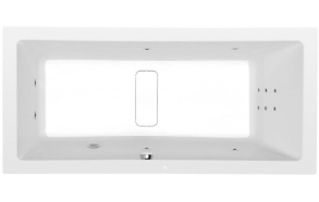 Poreamme MARLENE HYDRO, 170x80x48 cm, valkoinen