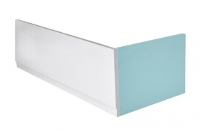 Kylpyammen etulevy PLAIN 160x59 cm L