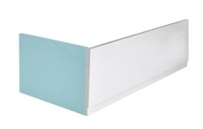 Kylpyammen etulevy PLAIN 190x59 cm L