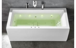 Vedenalainen LED-valaistusjärjestelmä, 8 LED lamppua