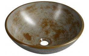 Malja-allas Interia Formigo, 410x140mm, harmaa/ruskea