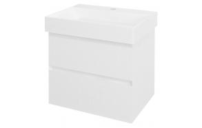 Allaskaappi Interia Filena, 570x515x430mm, valkoinen